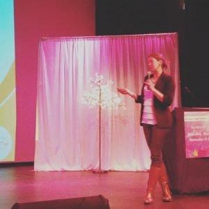 Tanja Presenting WHS